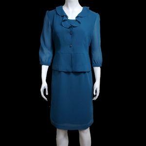 VTG. JG HOOK 2 Piece Shift Dress Set